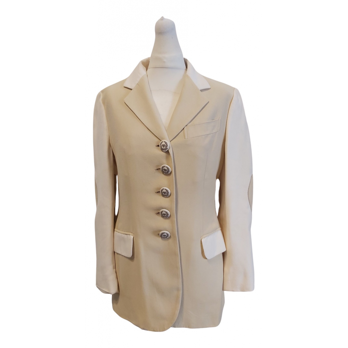 Moschino Cheap And Chic \N Jacke in  Kamel Baumwolle