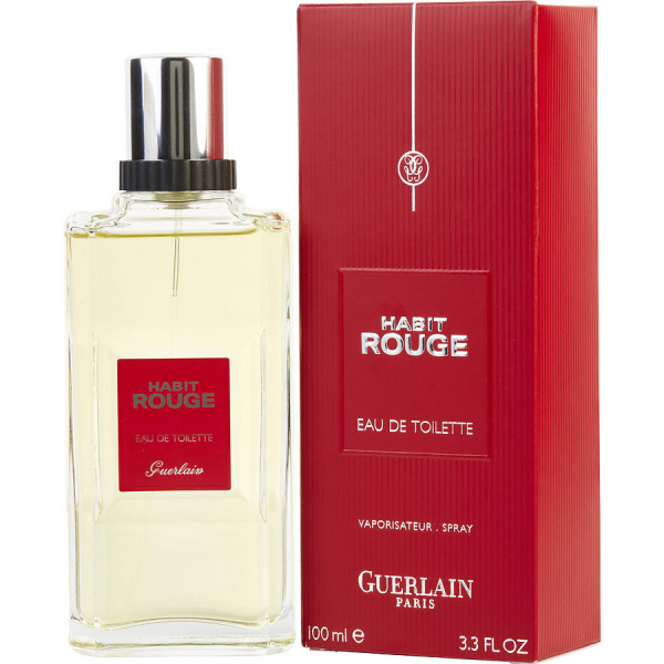 Habit Rouge - Guerlain Eau de toilette en espray 100 ML