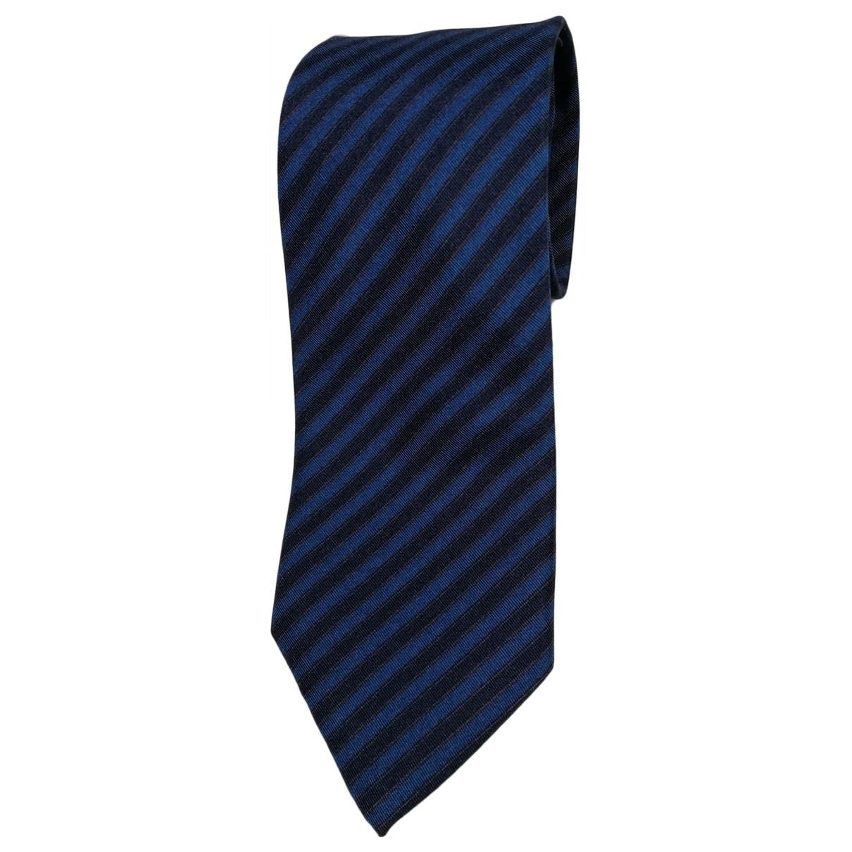 Christian Dior \N Blue Silk Ties for Men \N
