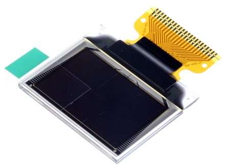 Midas 0.95in Red, Green, Blue Passive matrix OLED Display 96 x 64 TAB Multi Interface