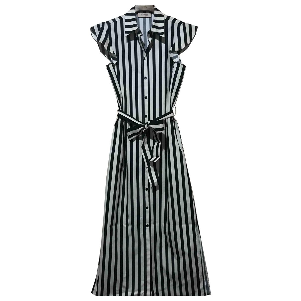 Twin Set - Robe   pour femme en coton