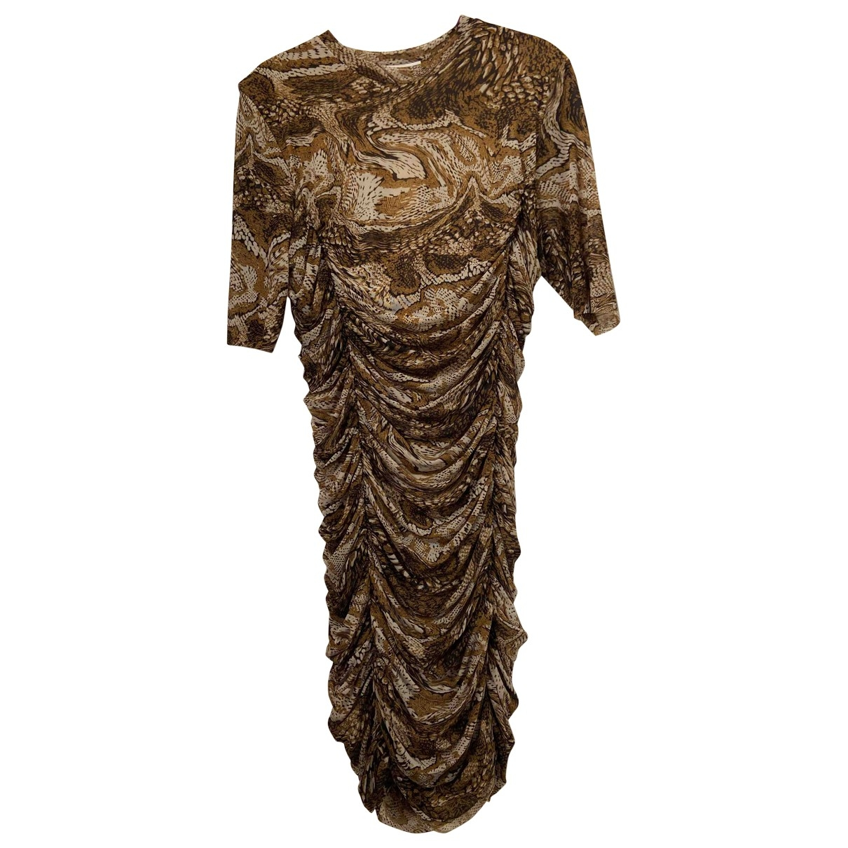Ganni Spring Summer 2020 Multicolour dress for Women 42 FR