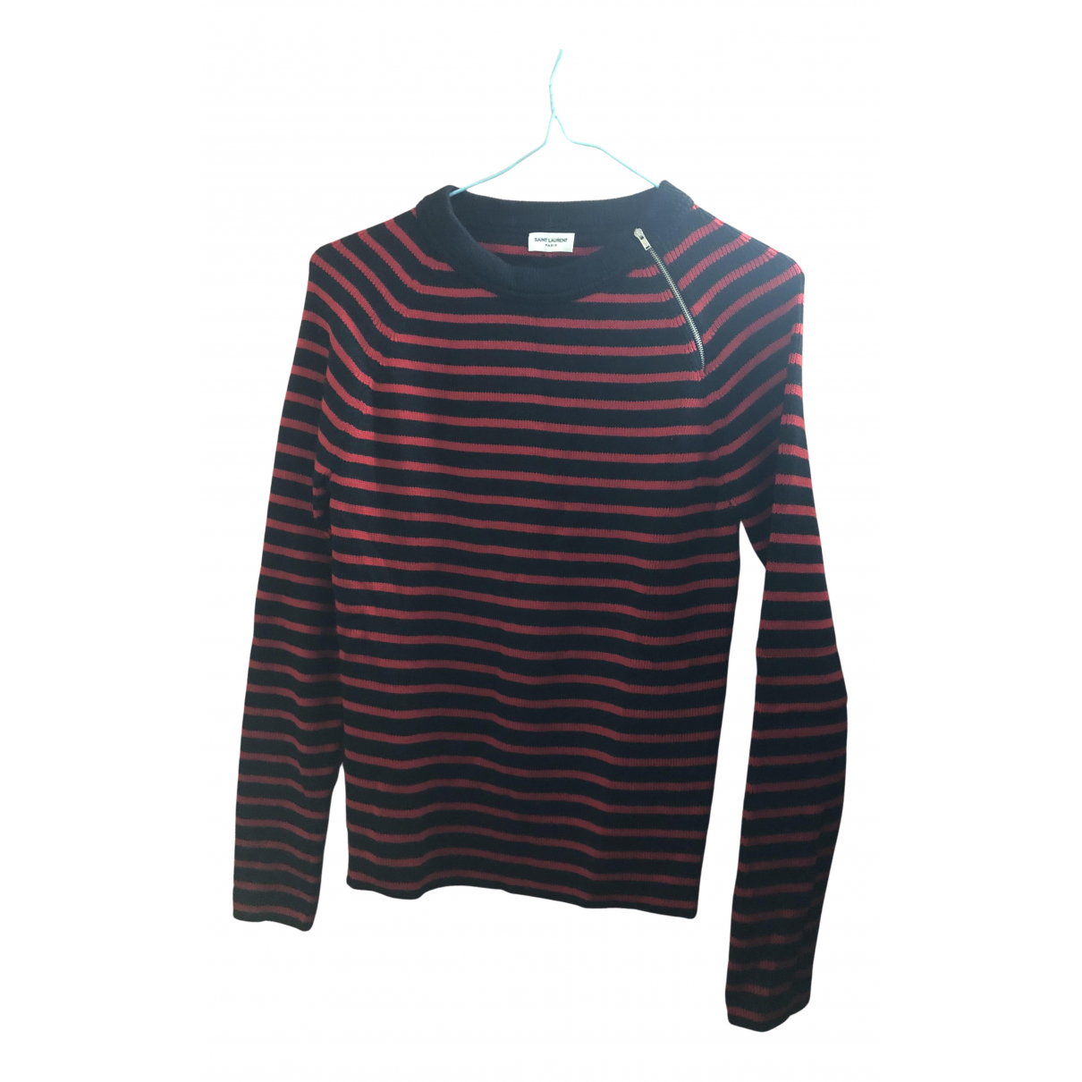 Saint Laurent N Red Wool Knitwear & Sweatshirts for Men M International