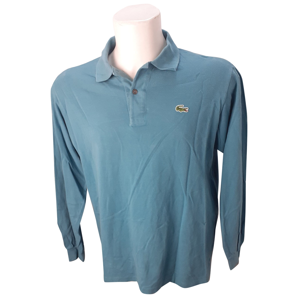 Lacoste \N Poloshirts in  Anthrazit Baumwolle