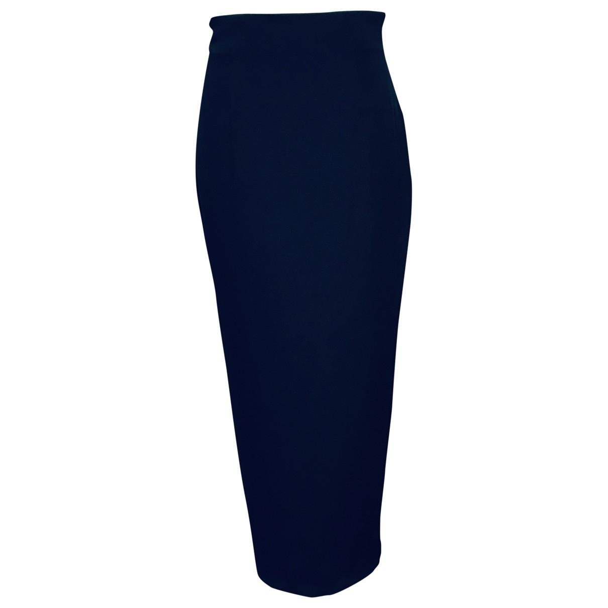 Rifat Ozbek - Jupe   pour femme - bleu