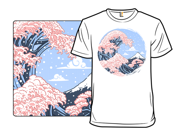 Blossom Wave T Shirt