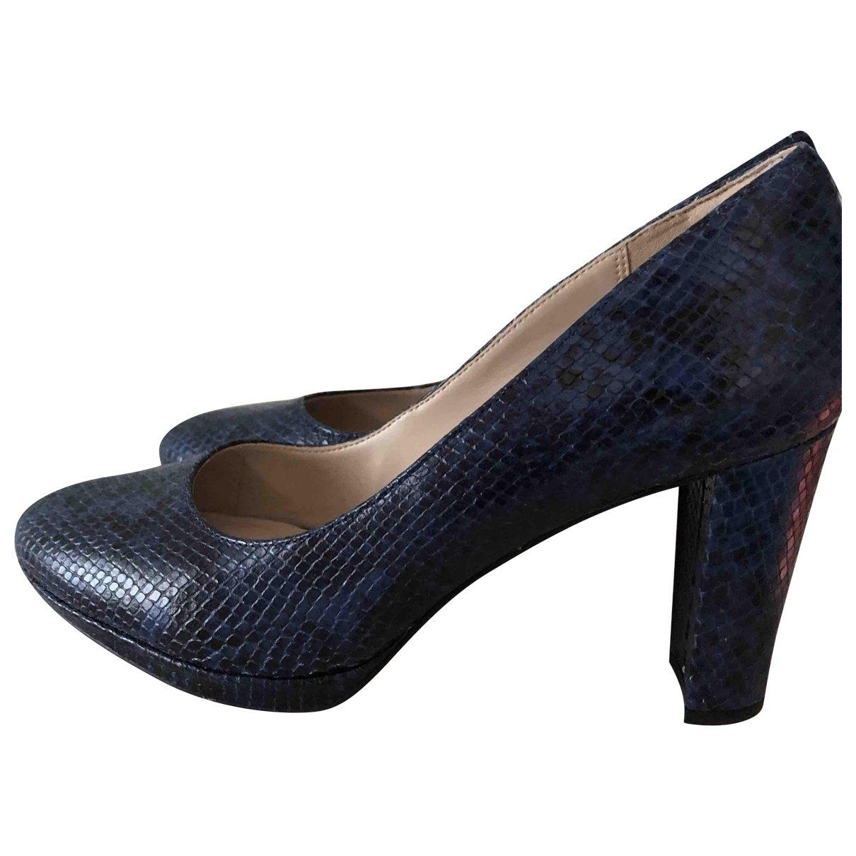 Clarks \N Blue Leather Heels for Women 42 EU