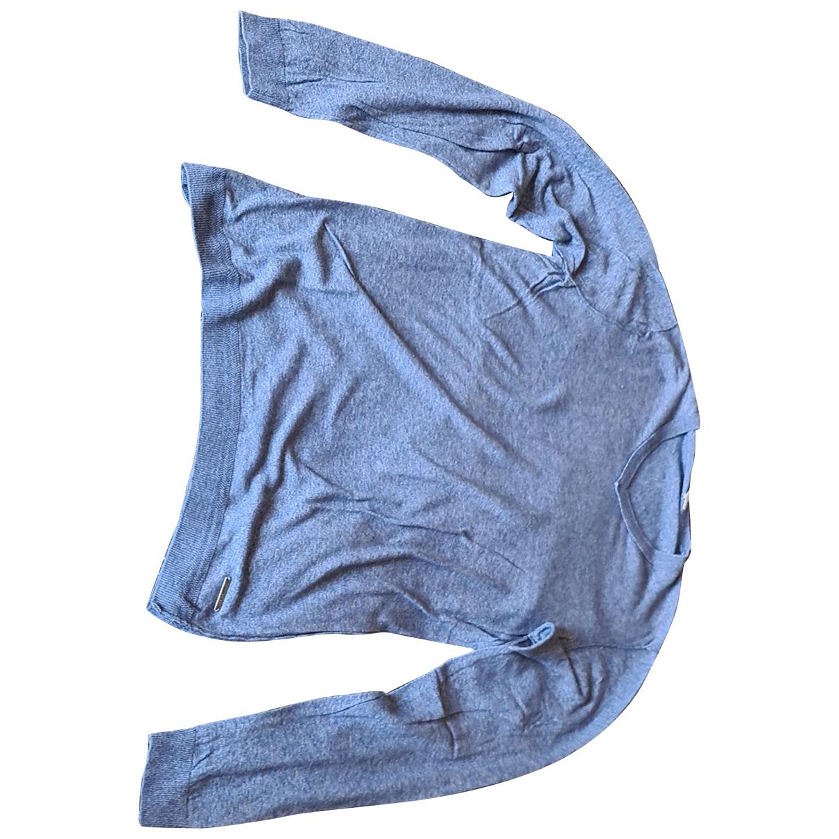 Calvin Klein \N Pullover.Westen.Sweatshirts  in  Blau Baumwolle
