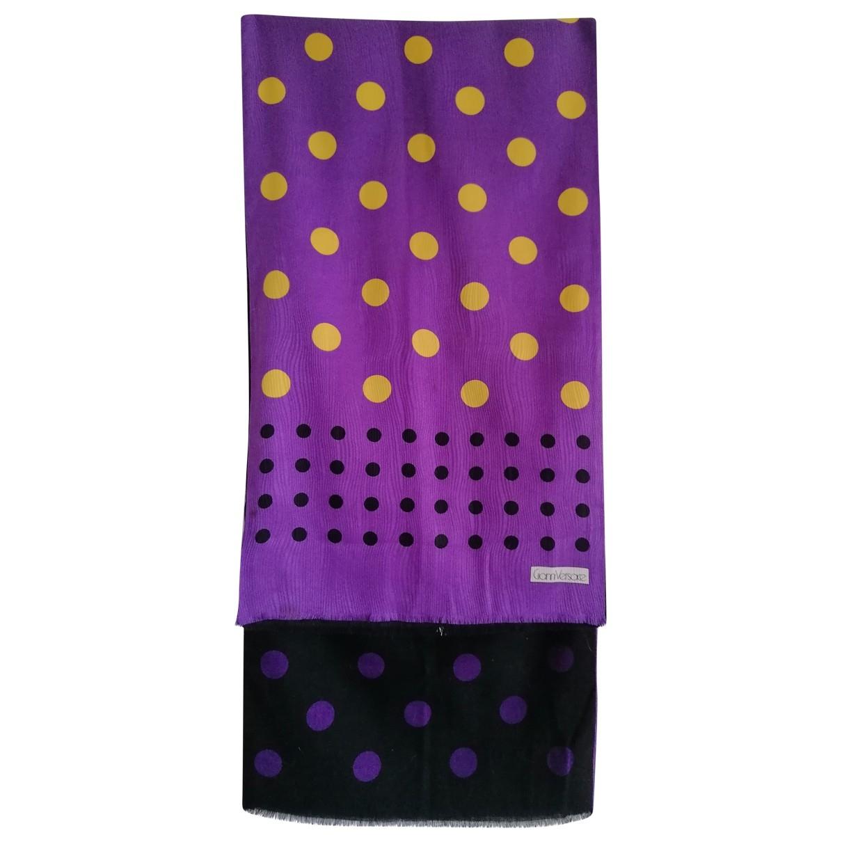Versace - Foulard   pour femme en cachemire - multicolore
