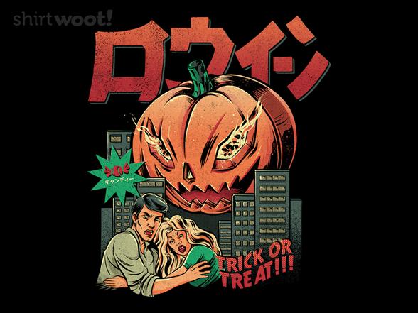 Pumpkinzilla T Shirt