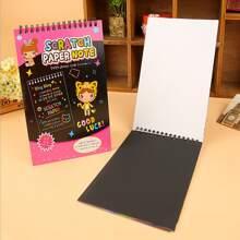 1 pieza libro de dibujo DIY al azar