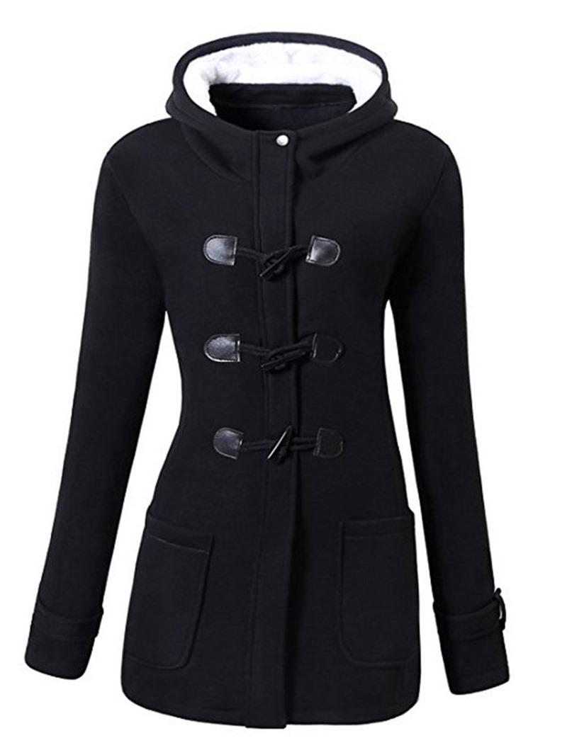 Ericdress Slim Pocket Standard Cotton Padded Jacket