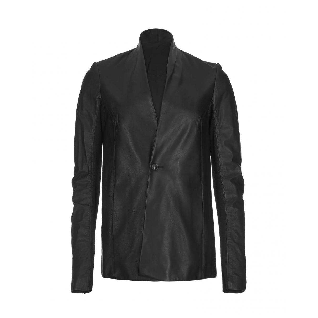 Rick Owens - Veste   pour femme en laine - noir