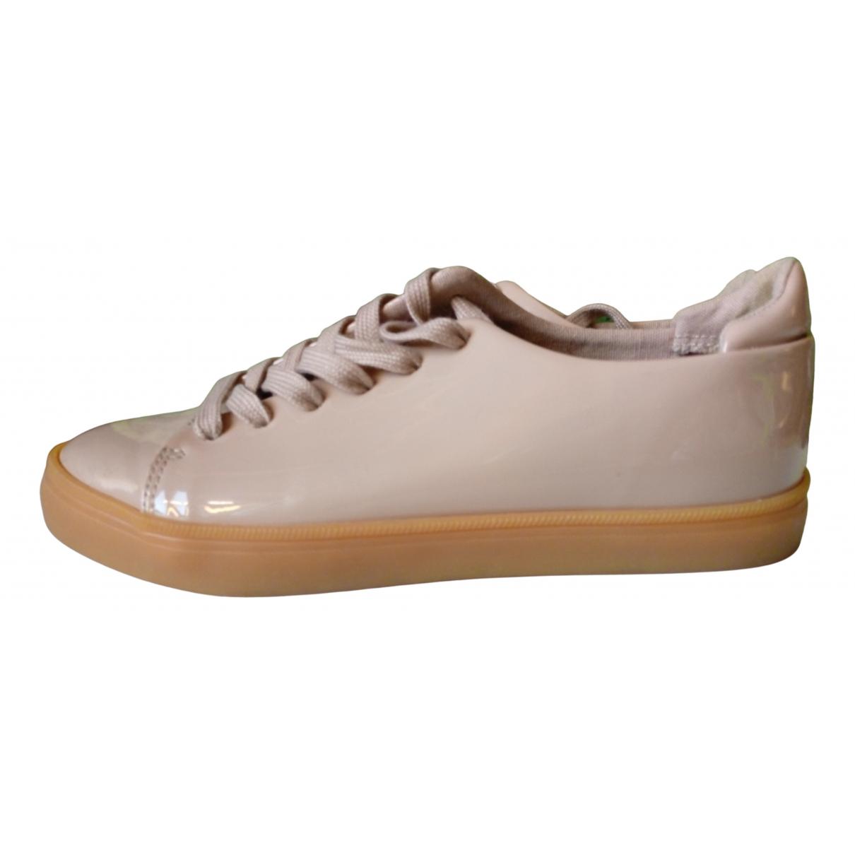 Asos \N Sneakers in  Rosa Lackleder