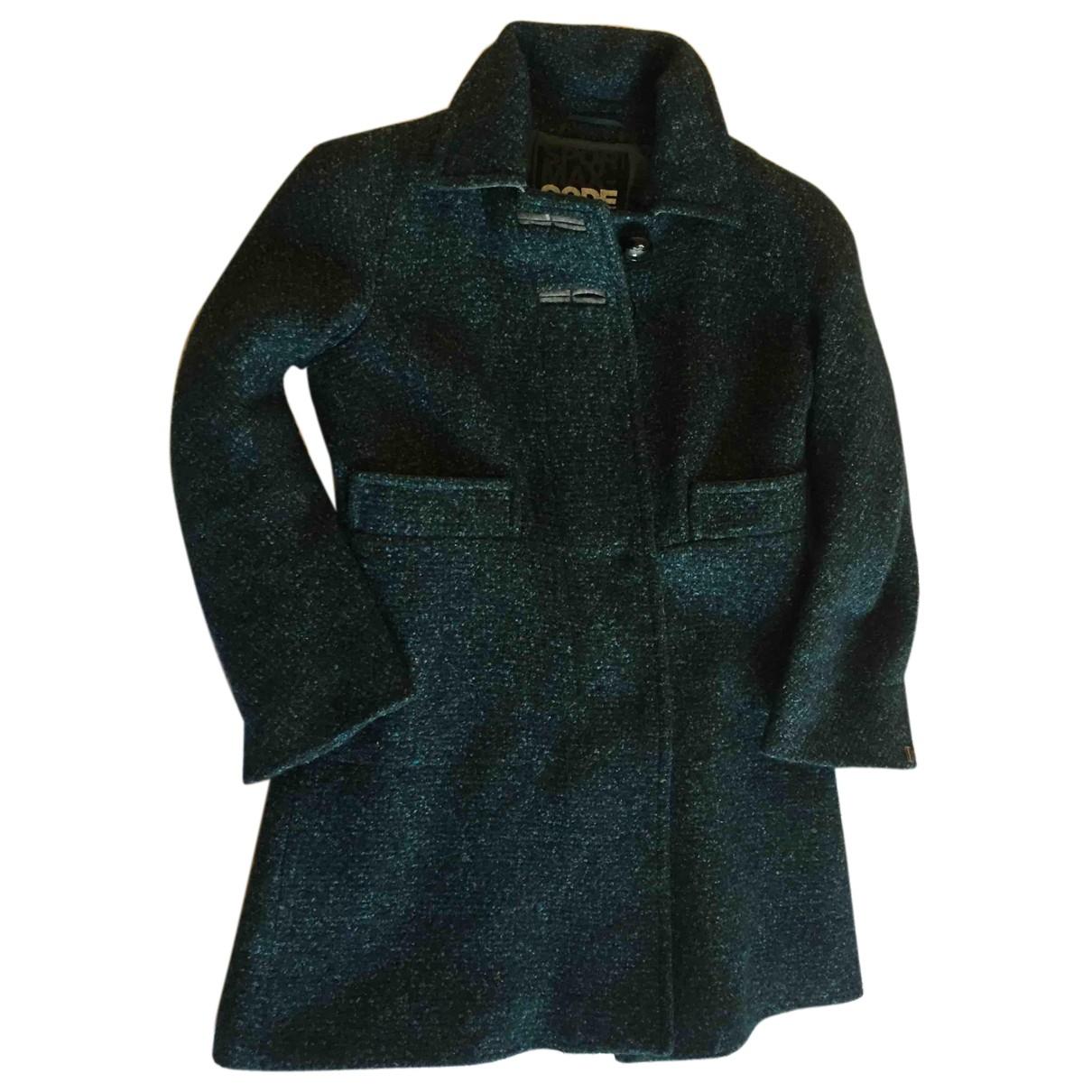 Sport Max N Green Wool coat for Women 40 IT