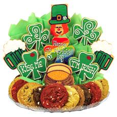 St Patricks Day Treats | St Patrick's Day Gift Basket