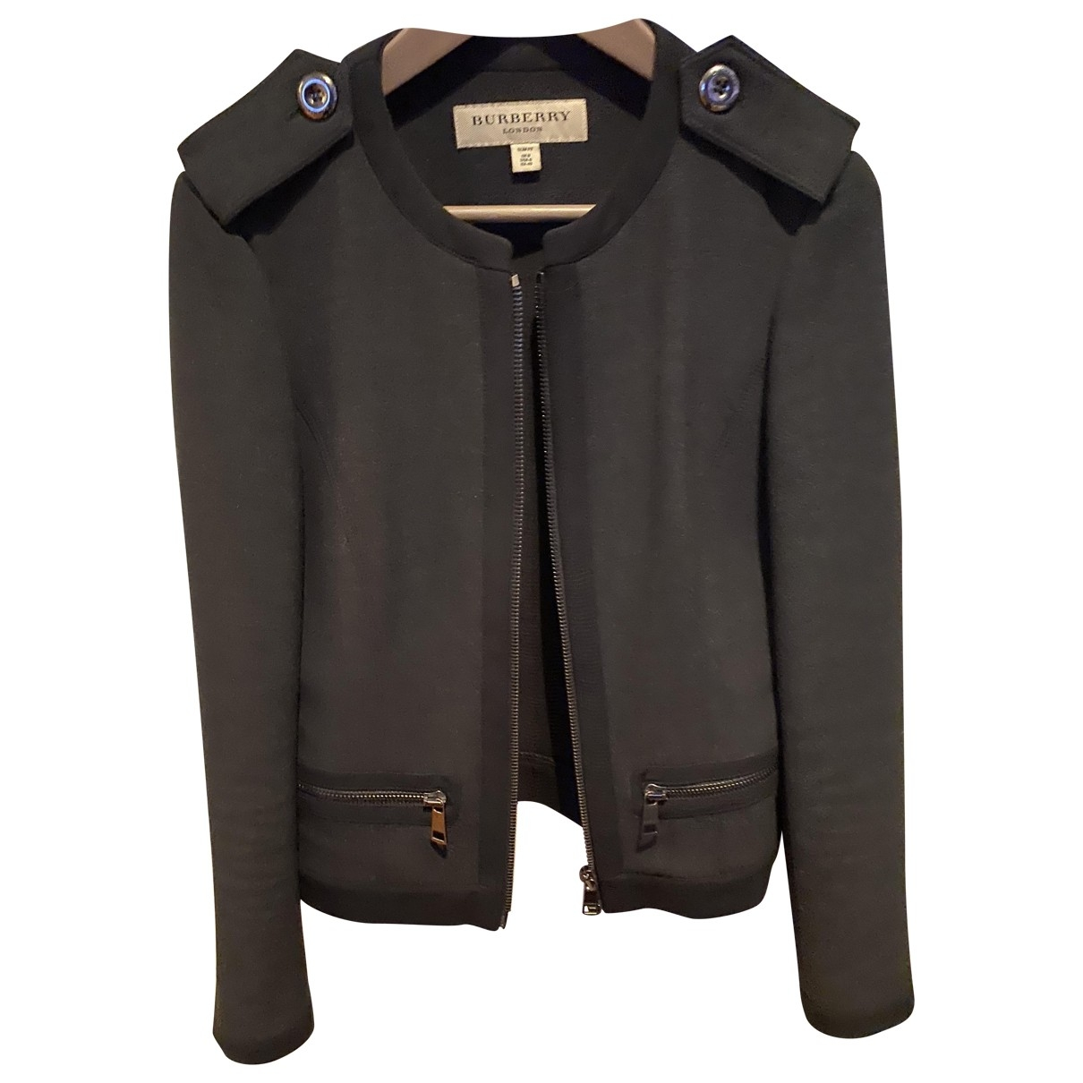 Burberry \N Anthracite jacket for Women 40 IT