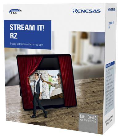 Renesas Electronics YSTREAM-IT-RZ-V2, STREAM IT RZ for Streaming-Enabled HMIs Development Kit for RZ/A1-LU for RZ