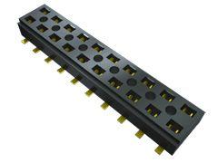 Samtec , CLT 2mm Pitch 14 Way 2 Row Vertical PCB Socket, Surface Mount, Solder Termination (41)