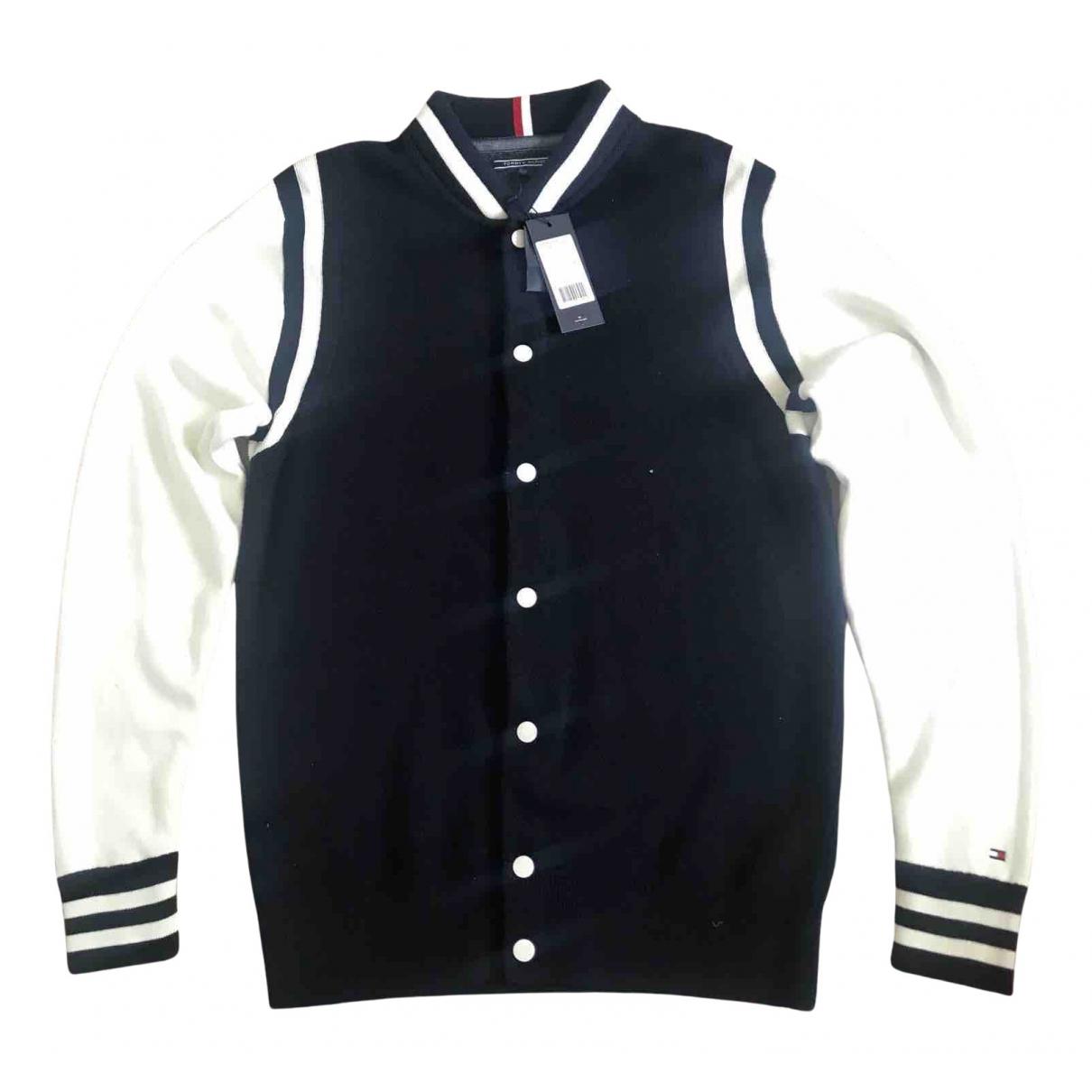 Tommy Hilfiger \N Pullover.Westen.Sweatshirts  in  Blau Baumwolle