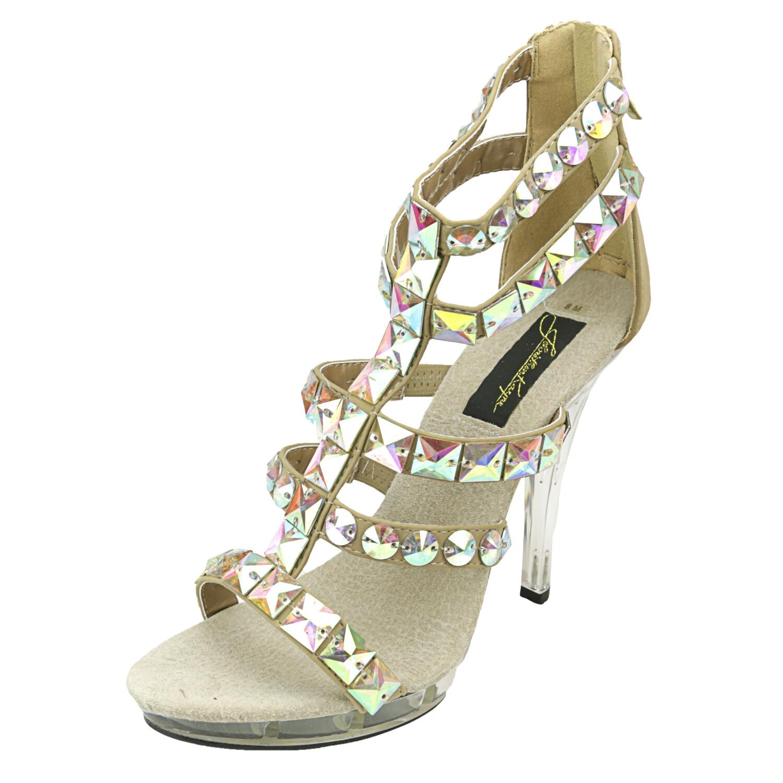 Johnathan Kayne Women's Carmine Taupe High-Top Heel - 8M