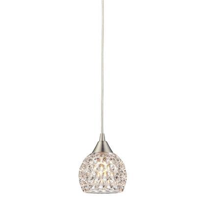 10341/1 Kersey Collection 1 Light mini Pendant in Satin