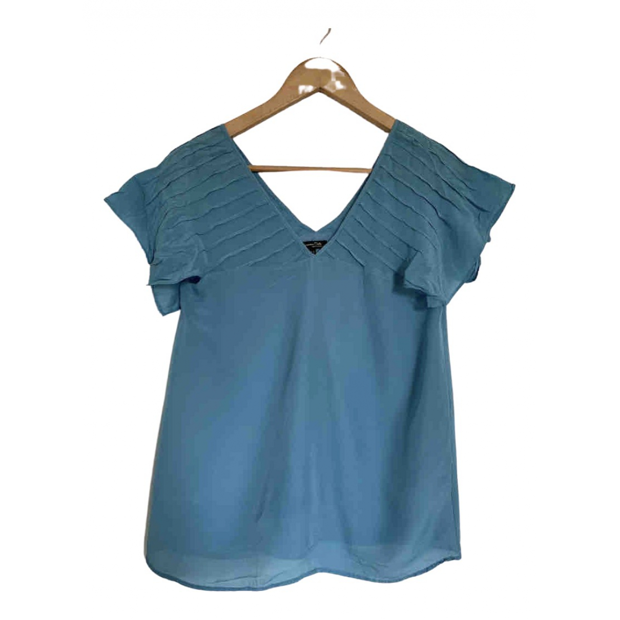 Massimo Dutti \N Blue  top for Women XS International