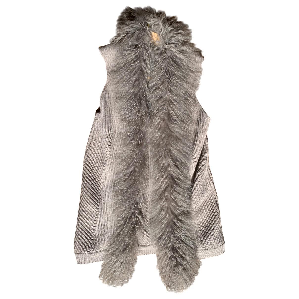 Peserico - Pull   pour femme en laine - gris