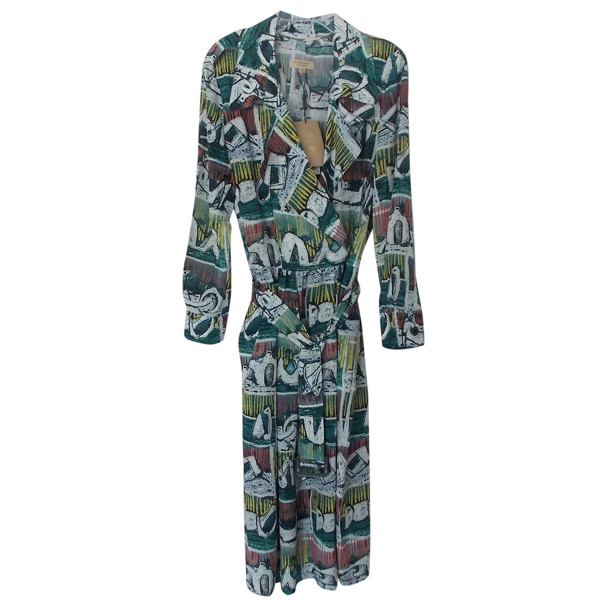 Burberry \N Multicolour Silk dress for Women 8 UK