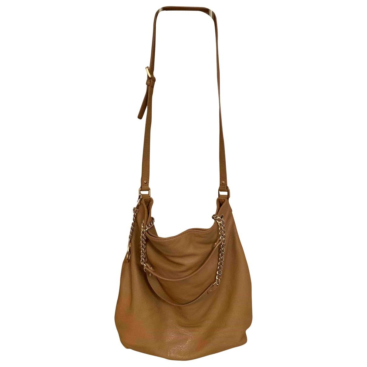 Michael Kors Bedford Camel Leather handbag for Women \N