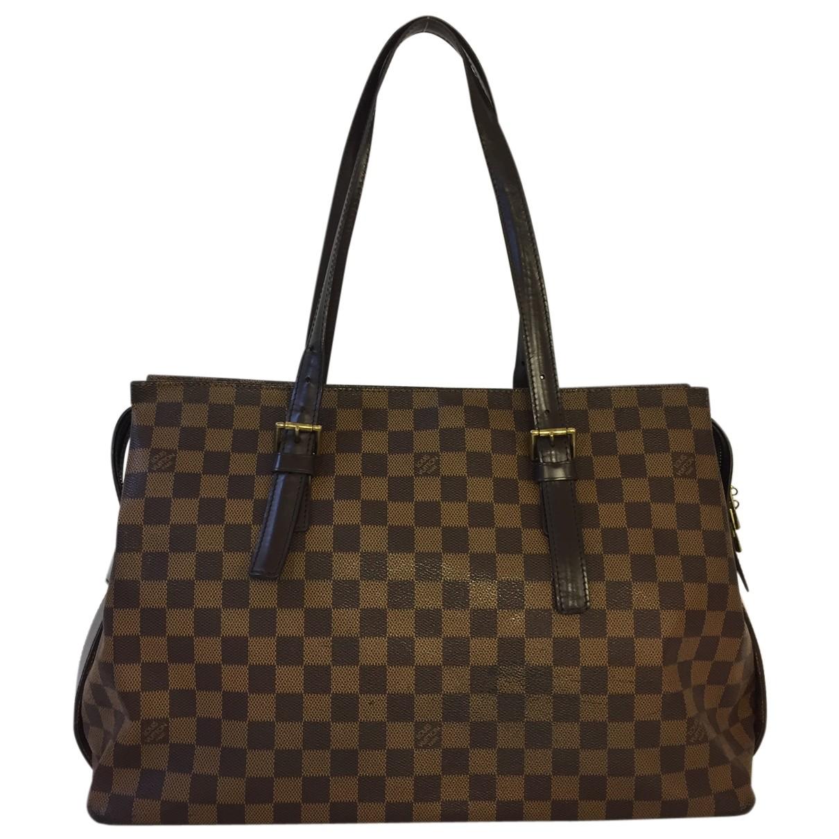 Louis Vuitton Chelsea Brown Cloth handbag for Women N