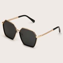 Gafas de sol de hombres de lentes tintadas