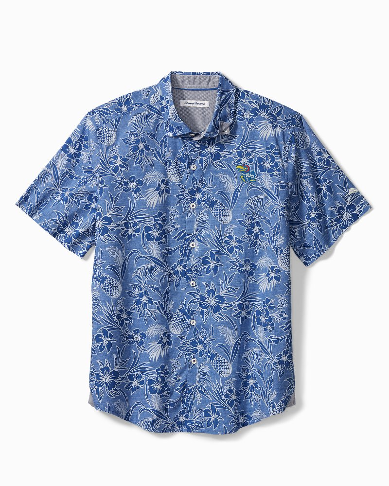 Collegiate Tiki Luau Camp Shirt