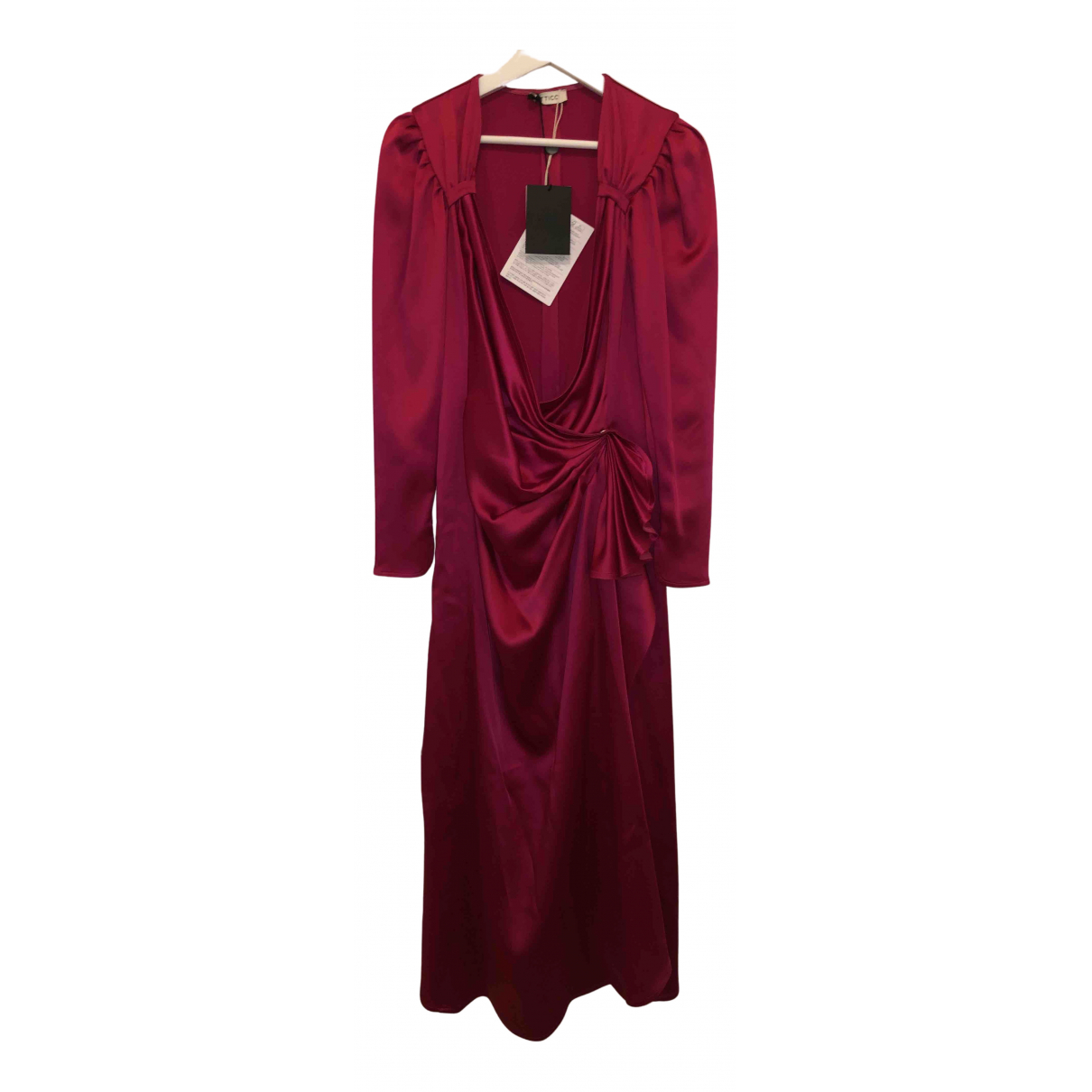 Attico \N Kleid in  Rosa Polyester
