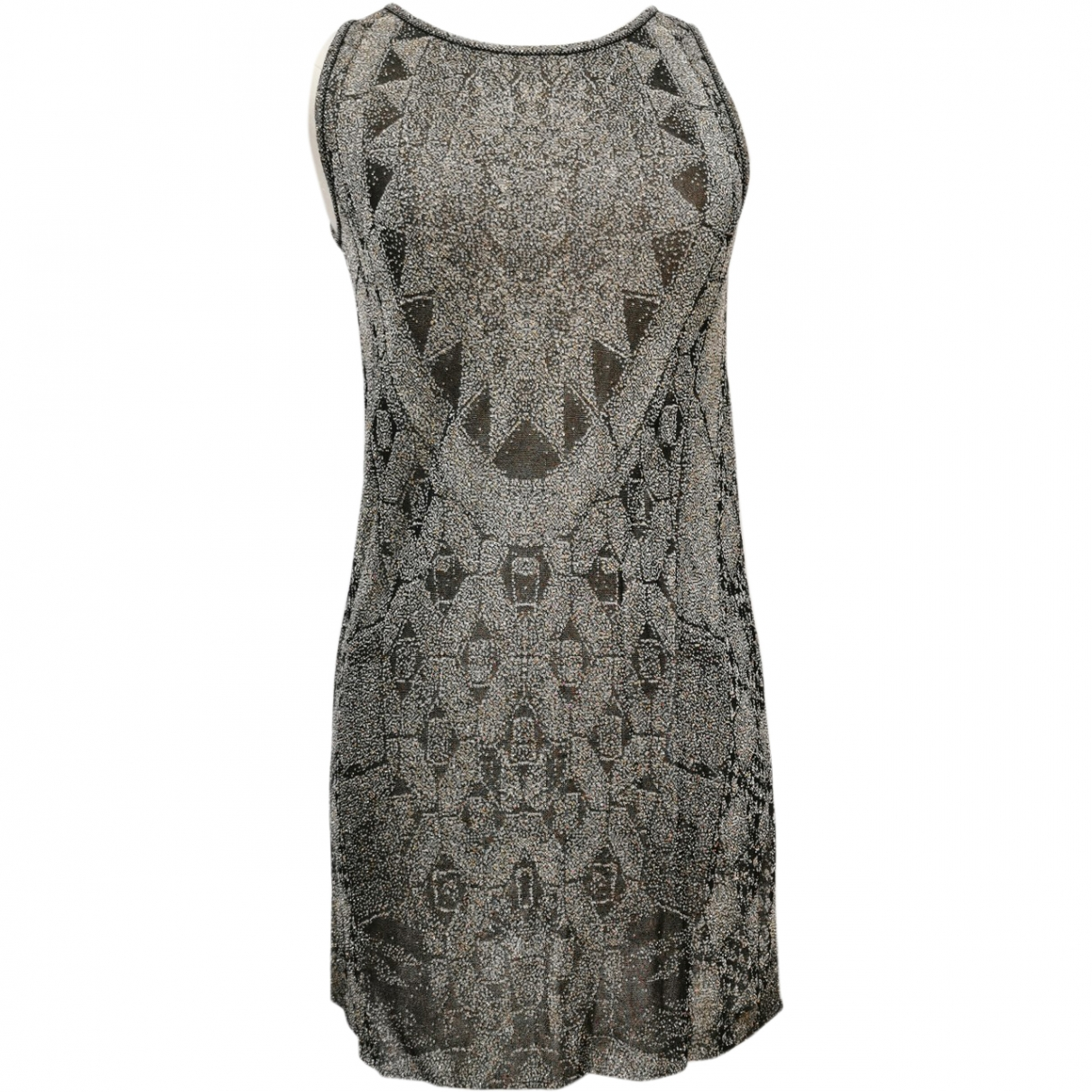 Chanel - Robe   pour femme - metallise
