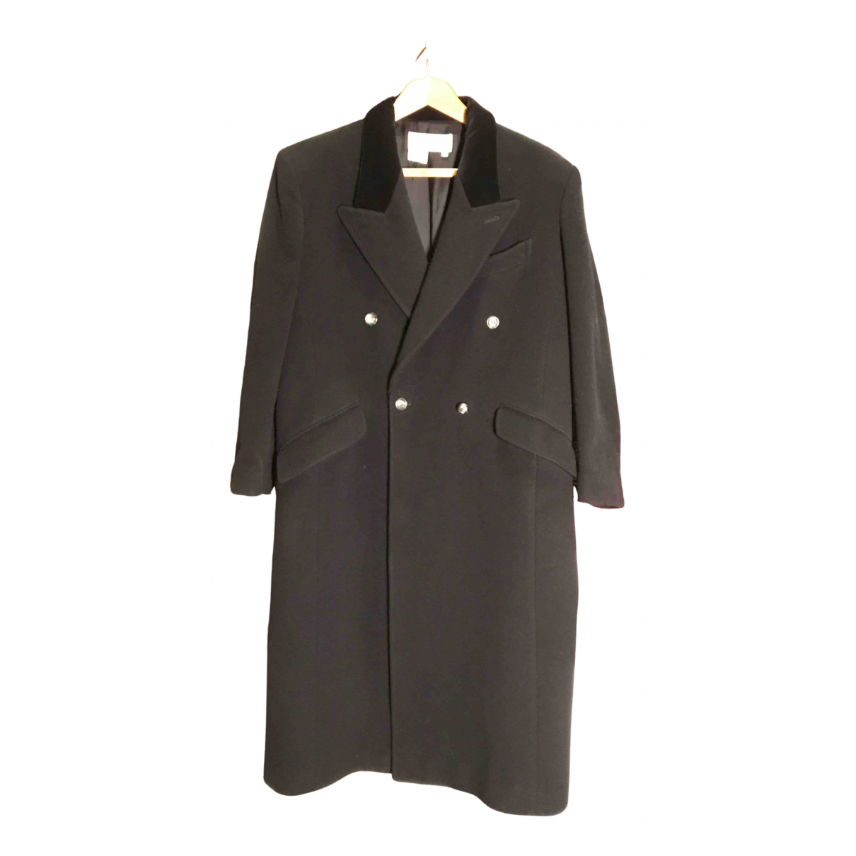 Gucci N Black Wool coat for Women 44 IT