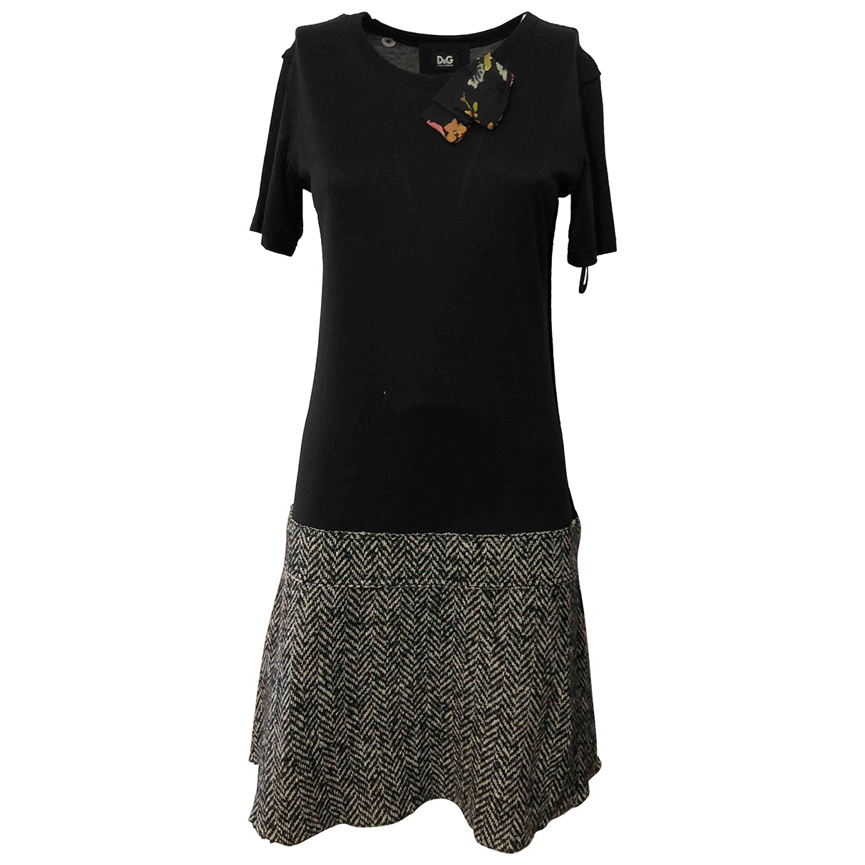 D&g \N Kleid in  Bunt Baumwolle