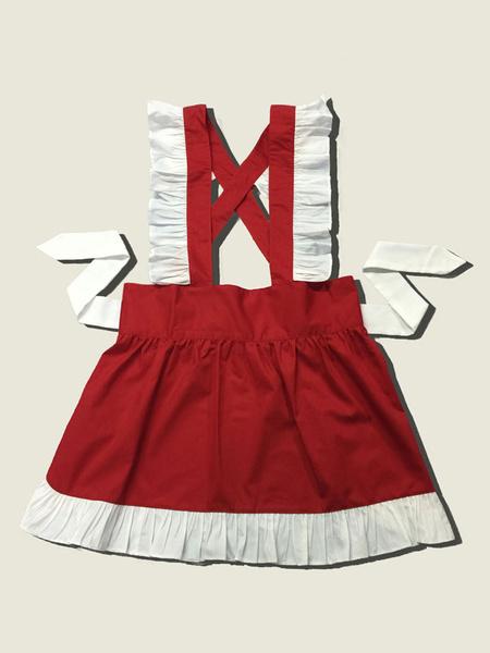 Milanoo Maid Lolita Apron Sweet Lolita Accessory Kawaii Maid Costume