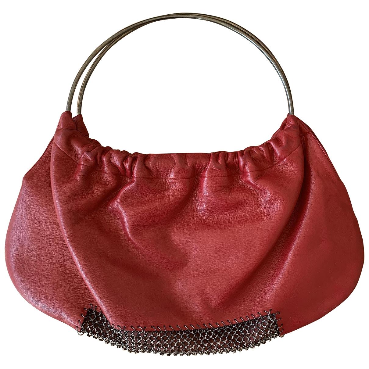 Karine Arabian \N Red Leather handbag for Women \N