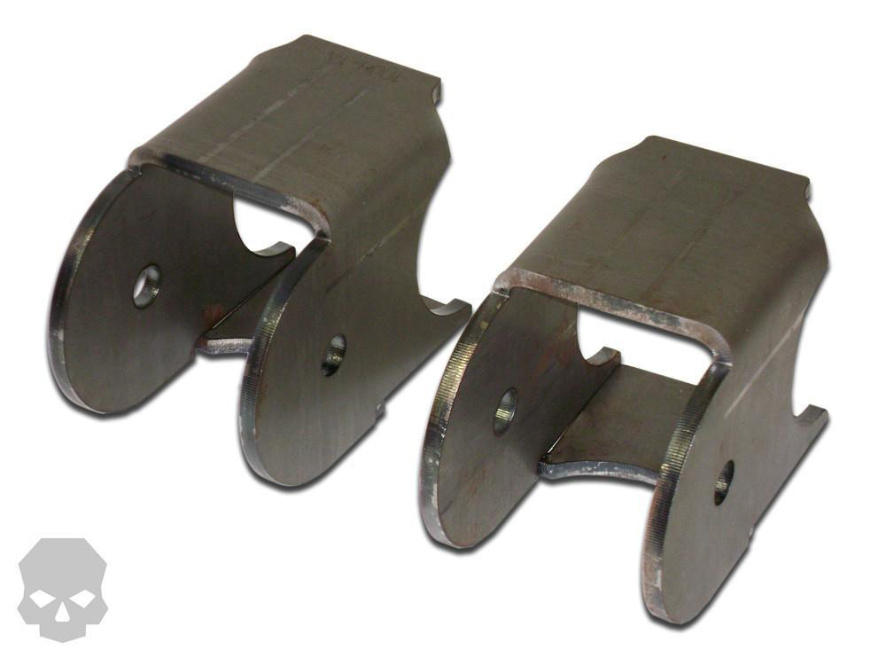 3.5 Inch Lower Axle Link Bracket 22.5 Degree 2.625 Inch With 9/16 Inch Bolt Hole Steel Ballistic Fabrication BRK-1010-4