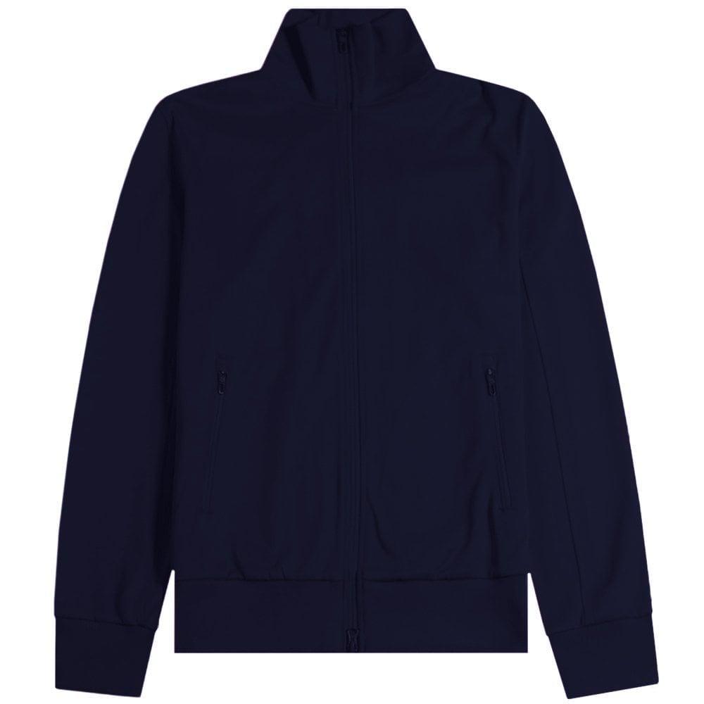 Y-3 Track Jacket Colour: NAVY, Size: MEDIUM
