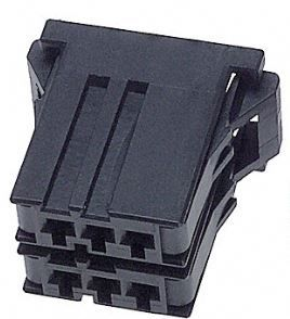 TE Connectivity , Dynamic 3000 Female Connector Housing, 3.81mm Pitch, 6 Way, 2 Row
