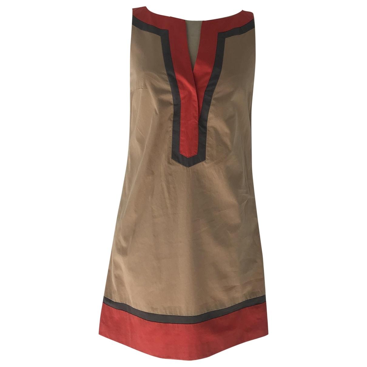Tara Jarmon \N Kleid in  Beige Baumwolle