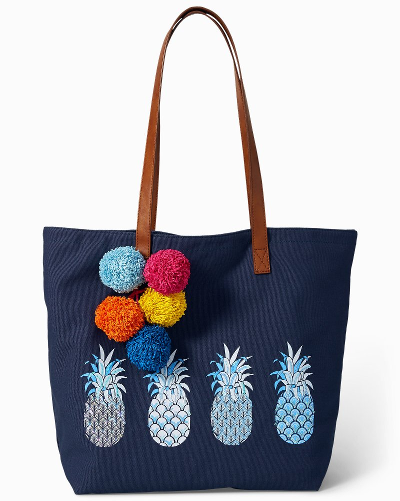 Paradise Punch Canvas Tote