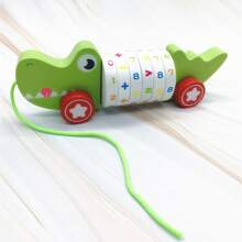 Kleinkind Kinder Spielzeug mit Karikatur Krokodil Design