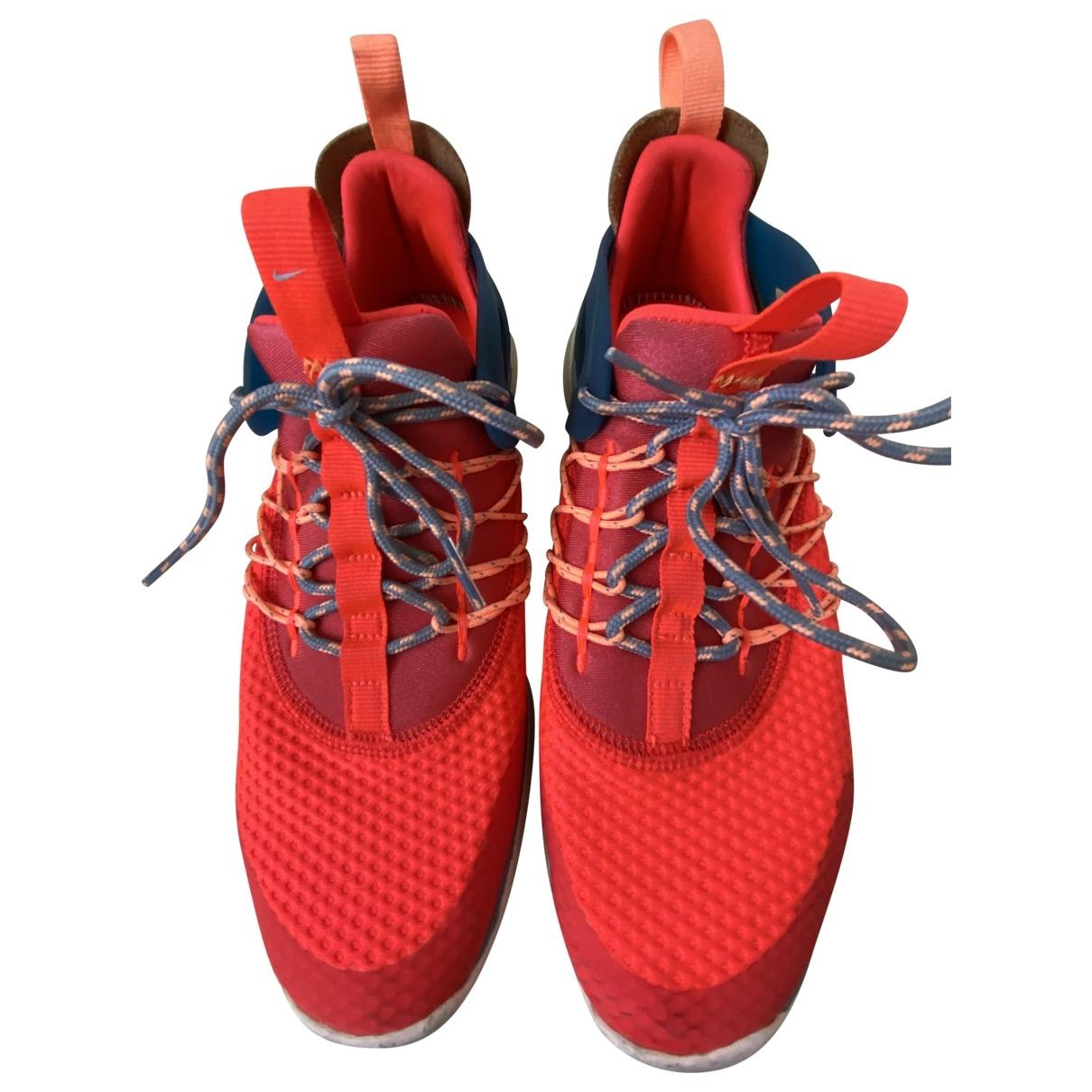 Nike - Baskets EXP-X14 pour femme en toile - orange
