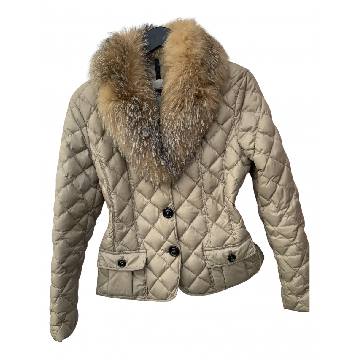 Moncler N Beige jacket for Women 40 FR