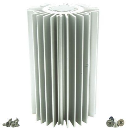 Intelligent LED Solutions Heatsink, Dragon 1, Duris 1, Duris 4, Oslon 1, Oslon 16, Oslon 4, Oslon 9, Stanley 1, Stanley 4, 50 (Dia.) x 80mm, Screw, Si