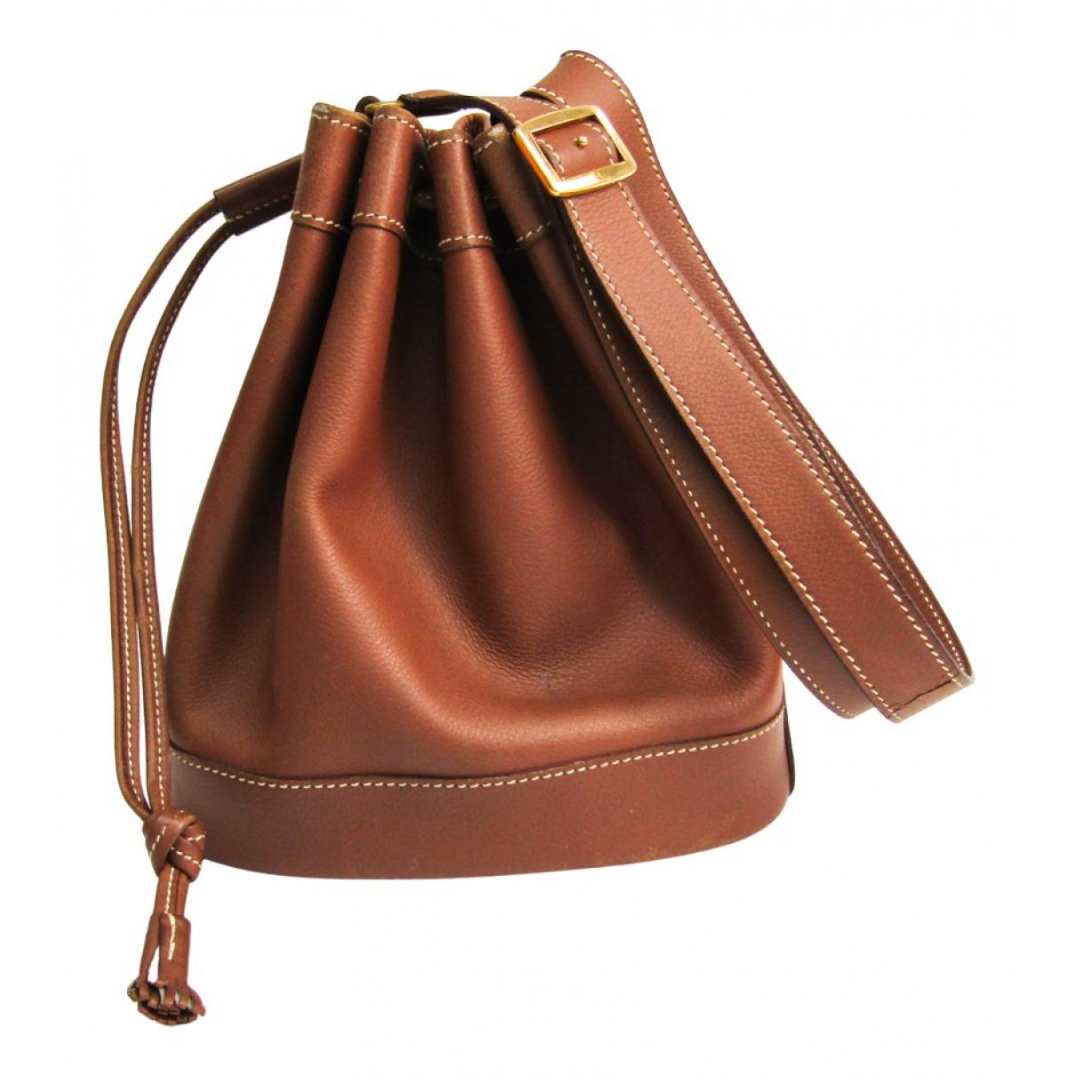 Hermès Market Brown Leather handbag for Women N