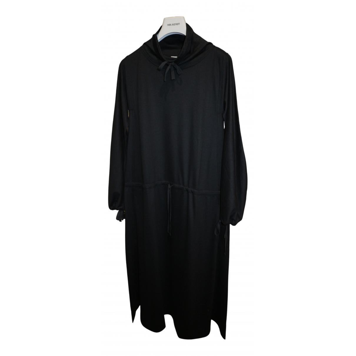 Lemaire - Robe   pour femme en coton - anthracite